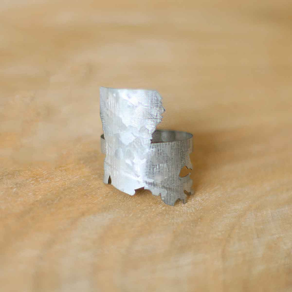 Galvanized Louisiana Napkin Ring The Royal Standard