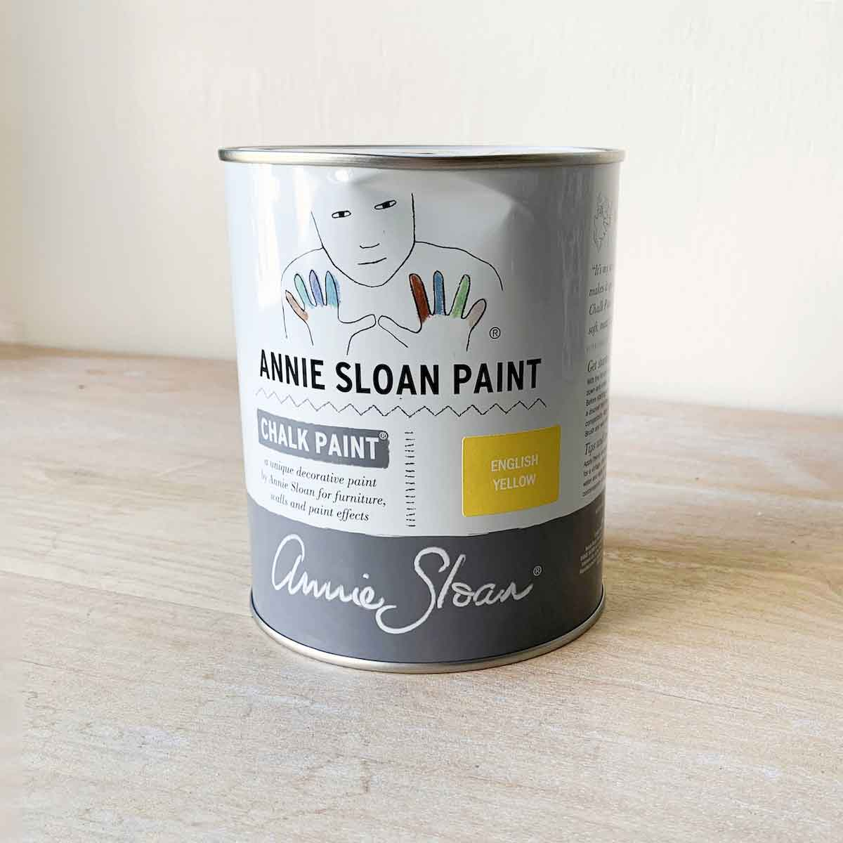 Annie Sloan Chalk Paint In English Yellow Quart The Royal Standard