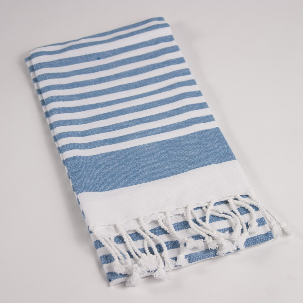 Aydin Stripe Hand Towel with Fringe